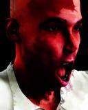 Hombre de griterío 7 Imagenes de archivo