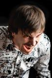 Hombre de grito Fotos de archivo libres de regalías