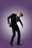 Hombre de la actitud de la marioneta fotografía de archivo