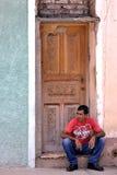 Hombre de la calle cubano Fotografía de archivo libre de regalías
