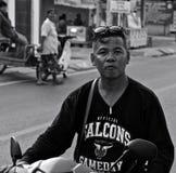 Hombre de la calle tailandés Imagen de archivo libre de regalías