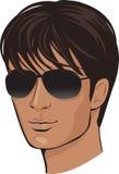 Hombre de la cara ilustración del vector