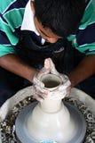 Hombre de la cerámica Imagen de archivo