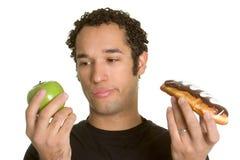 Hombre de la dieta Fotos de archivo libres de regalías