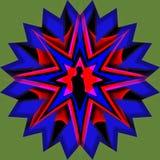 Hombre de la estrella Imagen de archivo