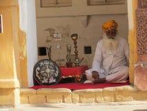 Hombre de la India Fotos de archivo libres de regalías
