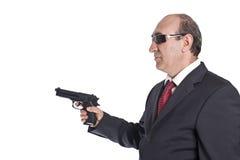 Hombre de la mafia Imágenes de archivo libres de regalías