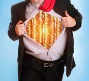 Hombre de la moneda Imagen de archivo libre de regalías