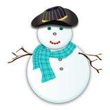 Hombre de la nieve Fotos de archivo