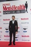 Hombre de la salud de Men's de los premios del año 2015 en Madrid, España Imagen de archivo libre de regalías
