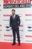 Hombre de la salud de Men's de los premios del año 2015 en Madrid, España Foto de archivo