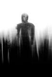 Hombre de la sombra Fotografía de archivo