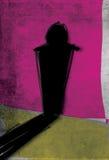 Hombre de la sombra Imagenes de archivo