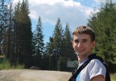 Hombre de la sonrisa Imagen de archivo libre de regalías