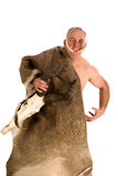 Hombre de las cavernas Foto de archivo libre de regalías