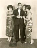 Hombre de las señoras Foto de archivo libre de regalías