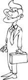 Hombre de las ventas Imagen de archivo libre de regalías