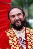 Hombre de los ancianos de la nacionalidad de uygur del chino Imagenes de archivo