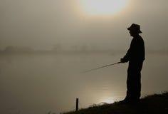 Hombre de los pescados Imágenes de archivo libres de regalías