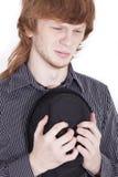 Hombre de luto Foto de archivo libre de regalías