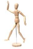 Hombre de madera imagen de archivo