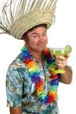¡Hombre de Margarita - aclamaciones! Imagen de archivo libre de regalías