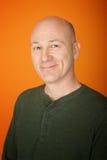 Hombre de mediana edad confidente Imagen de archivo libre de regalías