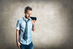 Hombre de moda joven Foto de archivo libre de regalías