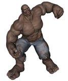Hombre de monstruo Imagen de archivo libre de regalías