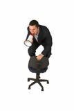 Hombre de negocios #243 Imagen de archivo libre de regalías
