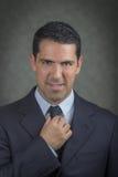 Hombre de negocios acertado del latino Imagenes de archivo