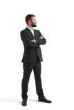 Hombre de negocios acertado en desgaste formal Fotografía de archivo libre de regalías