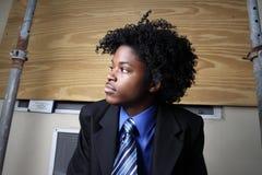 Hombre de negocios adolescente Imágenes de archivo libres de regalías