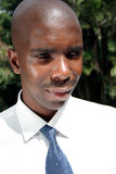 Hombre de negocios africano Imagen de archivo libre de regalías