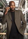 Hombre de negocios africano hermoso Fotografía de archivo