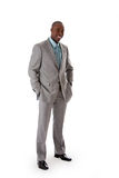 Hombre de negocios africano hermoso Imagenes de archivo