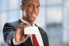 Hombre de negocios afroamericano imagenes de archivo