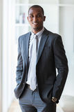 Hombre de negocios afroamericano - personas negras Imágenes de archivo libres de regalías