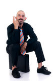 Hombre de negocios alternativo Foto de archivo libre de regalías