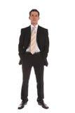 Hombre de negocios ambicioso imagen de archivo
