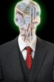 Hombre de negocios anónimo Fotografía de archivo libre de regalías