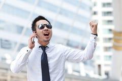 Hombre de negocios asiático Fotos de archivo libres de regalías