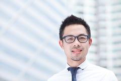 Hombre de negocios asiático Fotografía de archivo libre de regalías