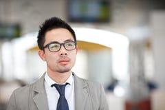 Hombre de negocios asiático Fotografía de archivo