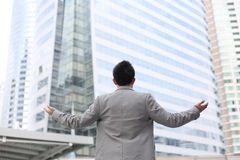 Hombre de negocios asiático Fotos de archivo