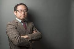 Hombre de negocios asiático Imagen de archivo