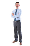 Hombre de negocios asiático envejecido centro Imagen de archivo