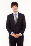 Hombre de negocios asiático joven fotografía de archivo libre de regalías