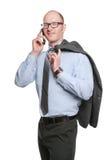 Hombre de negocios atractivo Foto de archivo