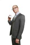 Hombre de negocios atractivo Fotos de archivo